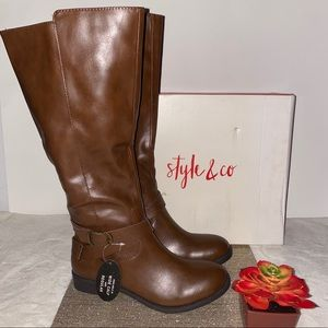 Women's Style & Co Riding Boots